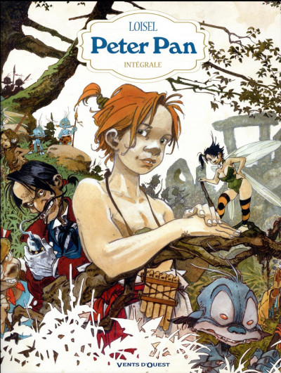 Couverture Peter Pan - intégrale