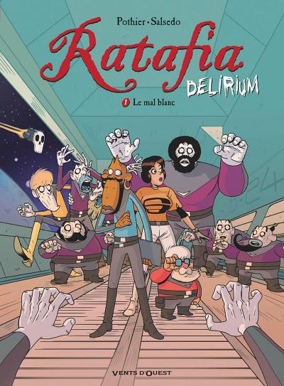 Couverture Ratafia delirium tome 1