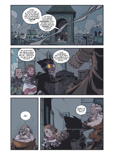 Page 1 Les incroyables aventures de l'enfant plume tome 2