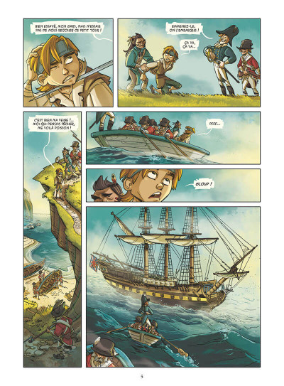 Page 8 Les terreurs des mers tome 1