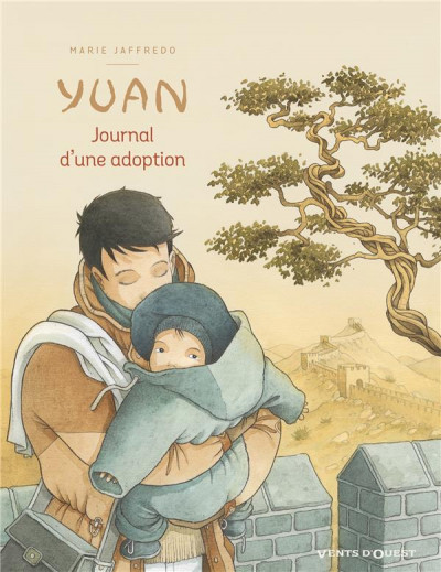 Couverture Yuan, journal d'une adoption