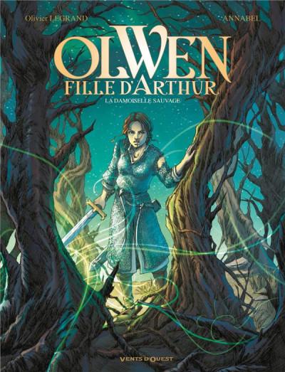 Couverture Olwen, fille d'Arthur tome 1