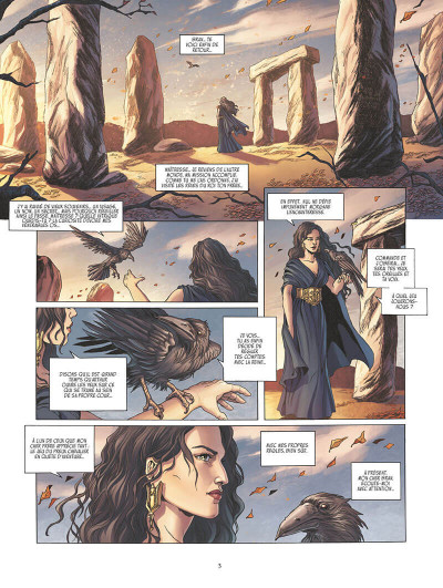 Page 2 Olwen, fille d'Arthur tome 1