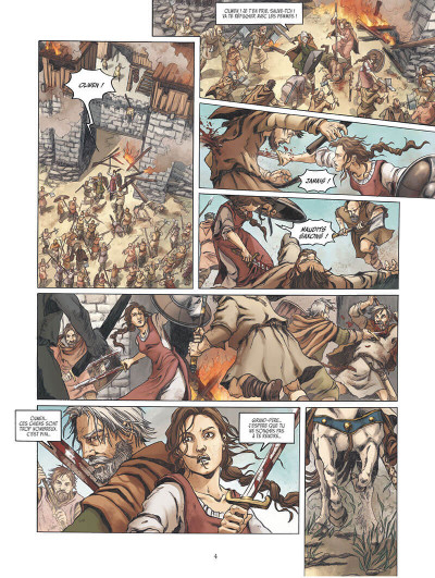 Page 3 Olwen, fille d'Arthur tome 1