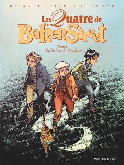 Couverture Les quatre de Baker Street tome 8