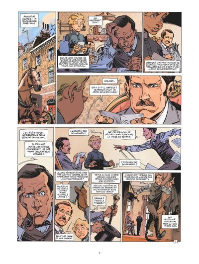 Page 3 Les quatre de Baker Street tome 8