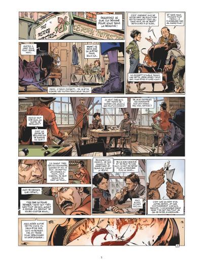 Page 4 Les quatre de Baker Street tome 8