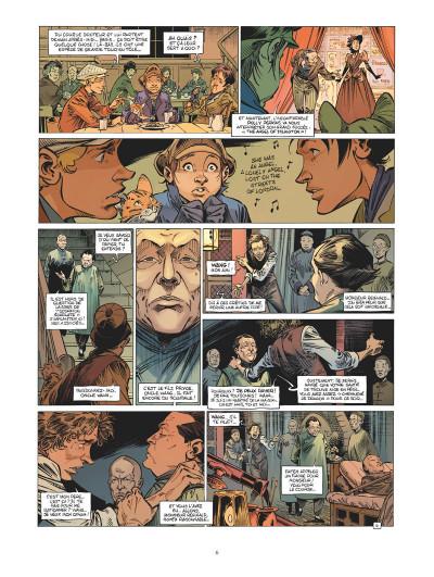 Page 5 Les quatre de Baker Street tome 8