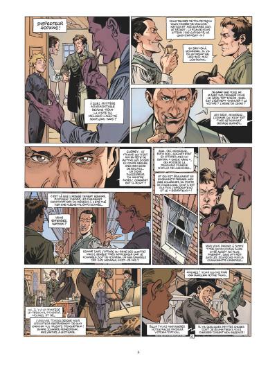 Page 7 Les quatre de Baker Street tome 8