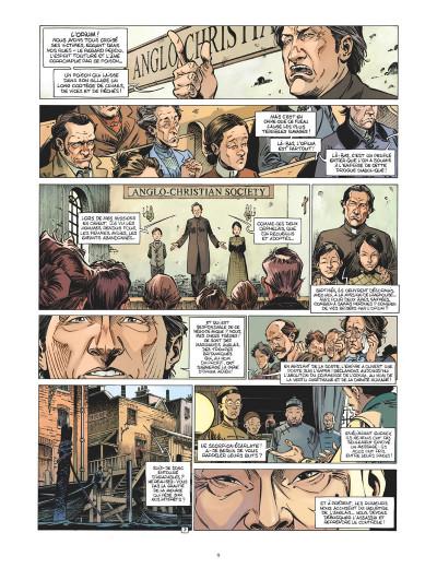 Page 8 Les quatre de Baker Street tome 8