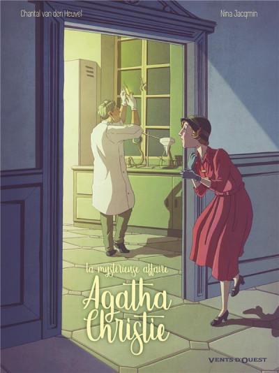 Couverture La mystérieuse affaire Agatha Christie