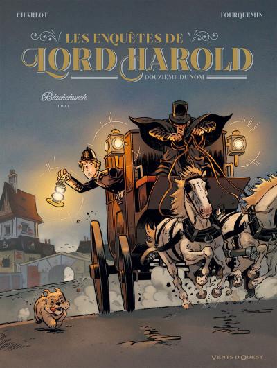 Couverture Les enquêtes de Lord Harold tome 1