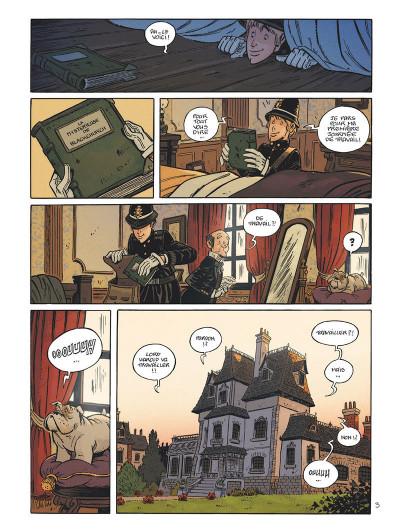 Page 8 Les enquêtes de Lord Harold tome 1