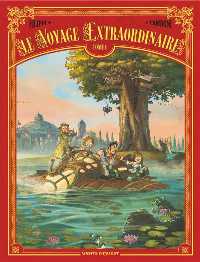 Couverture Le voyage extraordinaire tome 1 (+ mini silhouette offerte)