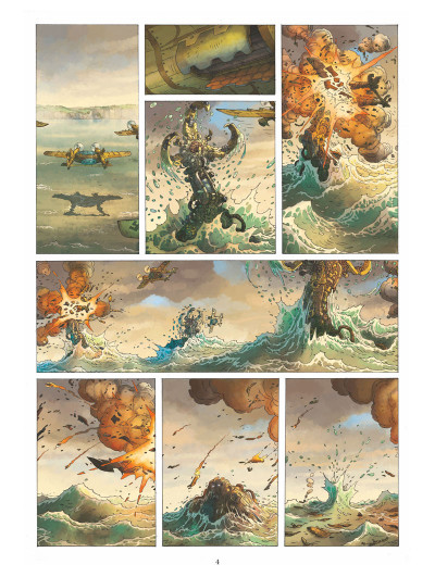 Page 3 Le voyage extraordinaire tome 1 (+ mini silhouette offerte)