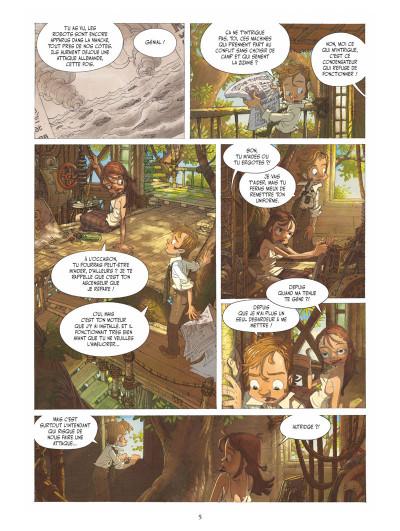 Page 4 Le voyage extraordinaire tome 1 (+ mini silhouette offerte)