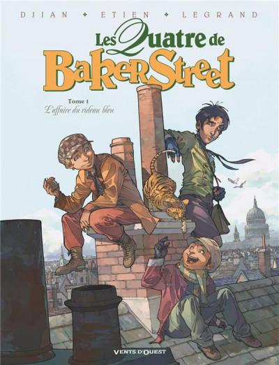 Couverture Les quatre de Baker street tome 1 (+ mini silhouette offerte)