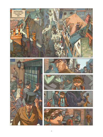 Page 2 Les quatre de Baker street tome 1 (+ mini silhouette offerte)