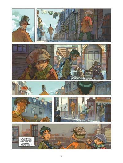 Page 3 Les quatre de Baker street tome 1 (+ mini silhouette offerte)