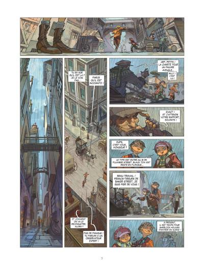 Page 4 Les quatre de Baker street tome 1 (+ mini silhouette offerte)
