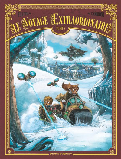 Couverture Le voyage extraordinaire tome 8