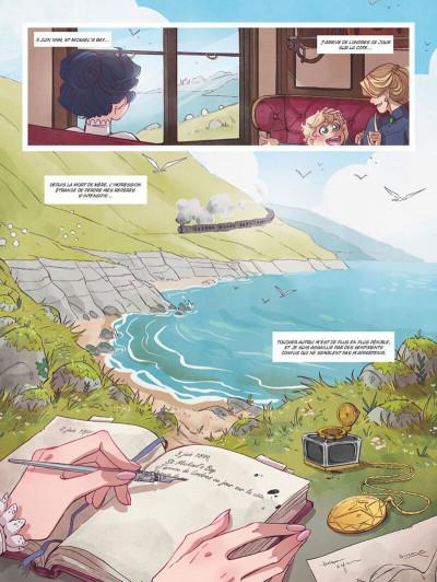 Page 2 Amelia Woods tome 1