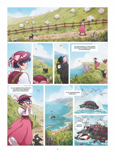 Page 4 Amelia Woods tome 1