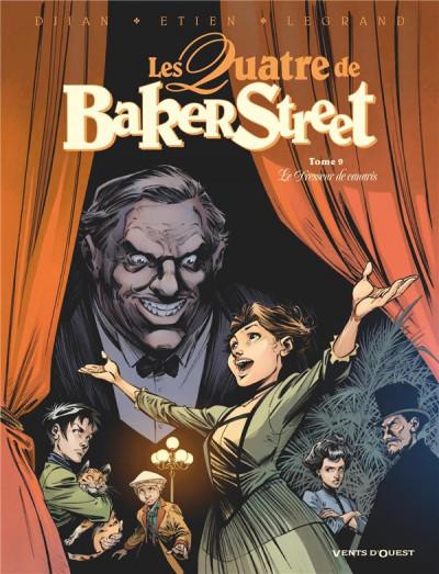 Couverture Les quatre de Baker street tome 9