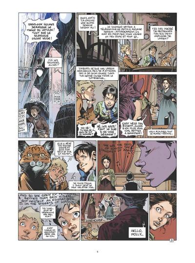 Page 8 Les quatre de Baker street tome 9