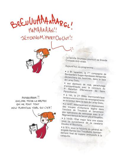 Page 8 Le petit Grumeau illustré tome 2 - chroniques de la lose parentale
