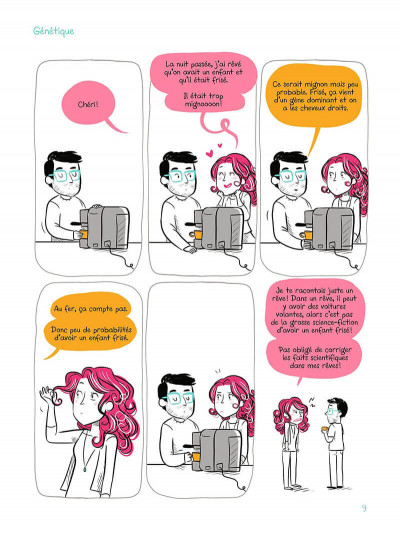 Page 8 Ma vie avec un scientifique - La fertilité