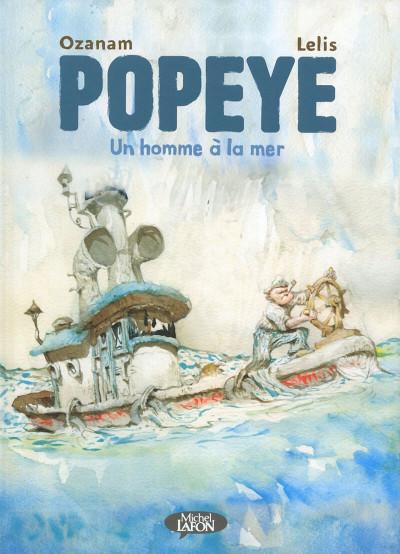 Couverture Popeye - Un homme à la mer