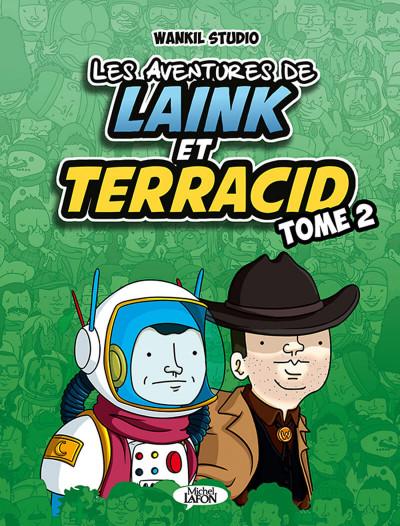 Couverture Les aventures de Laink & Terracid tome 2