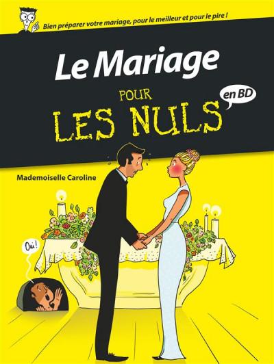 Couverture Le mariage pour les nuls en BD