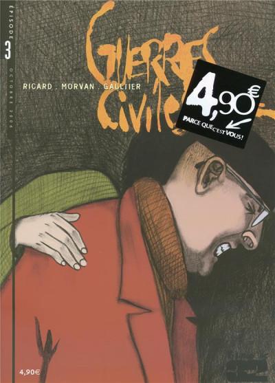 Couverture Guerres civiles tome 3