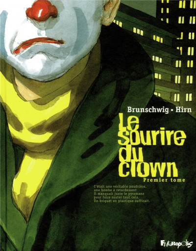 Couverture le sourire du clown tome 1