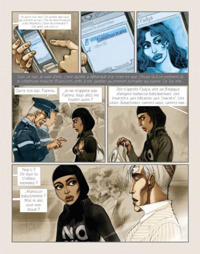 Page 5 le ciel au-dessus de bruxelles tome 1