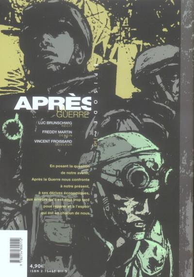 Dos Après la guerre tome 2