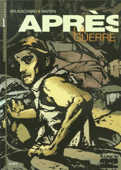 Couverture Après la guerre tome 1