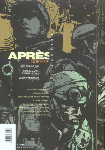 Dos Après la guerre tome 1