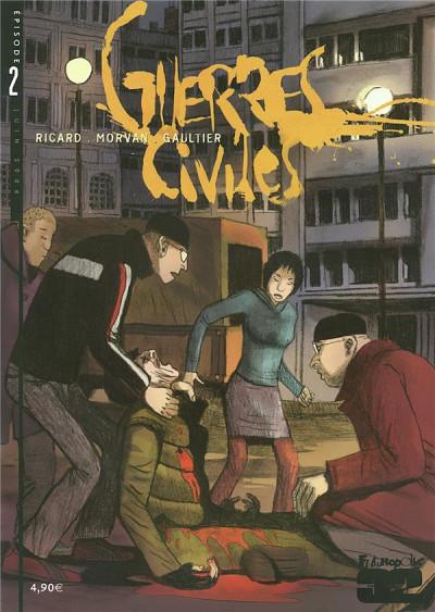 Couverture Guerres civiles tome 2
