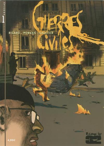 Couverture guerres civiles tome 1