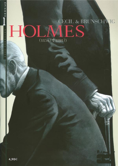 Couverture Holmes tome 1