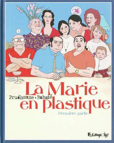 Couverture la marie en plastique tome 1