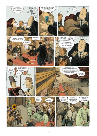 Page 3 l'idole dans la bombe ; l'intégrale