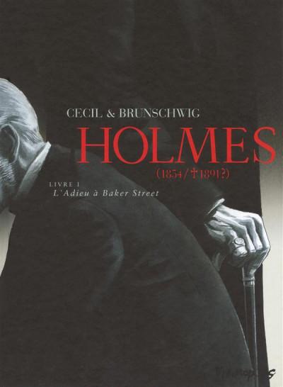 image de Holmes (1854-1891?) tome 1 - l'adieu à baker street
