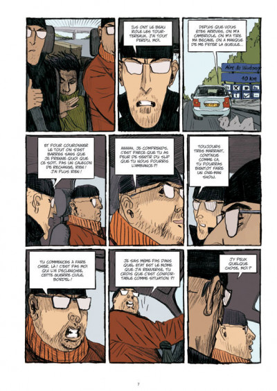 Page 5 guerres civiles tome 2 - intégrale