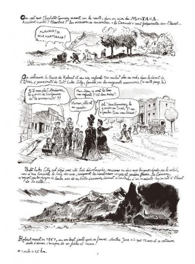 Page 5 martha jane cannary tome 1 - les années 1852-1869