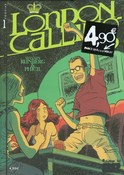 Couverture London calling tome 1