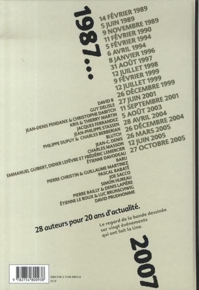 Dos le jour où, 1987-2007 ; france info, 20 ans d'actualité